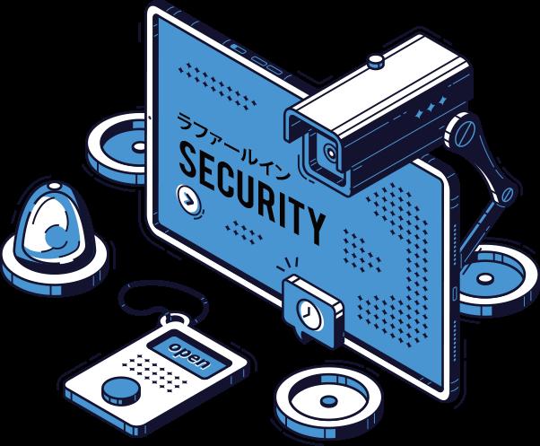 セキュリティの確保